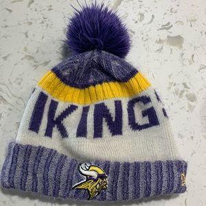 Youth Minnesota Vikings winter hat!